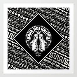 Rapa Nui United Art Print