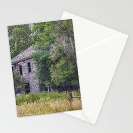 Abandoned Farm House, North Dakota Stationery Cards
