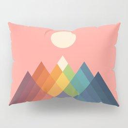 Rainbow Peak Pillow Sham