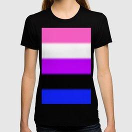 Genderfluid Pride Flag T-shirt
