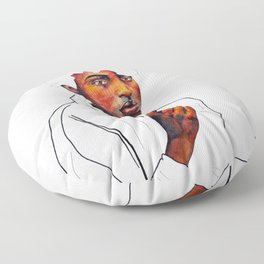 Honor the space you are in Floor Pillow