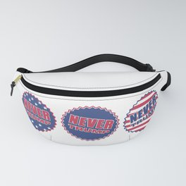 Never Trump (Triple) Fanny Pack