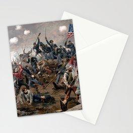 Battle of Spottsylvania by Thure de Thulstrup Stationery Cards