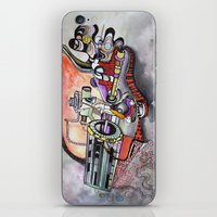 technology iPhone & iPod Skins featuring Technology System1 by infloence