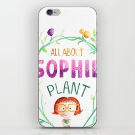 All about sophie iPhone Skin