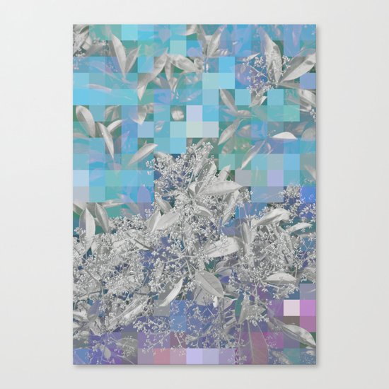 Variato blues Canvas Print