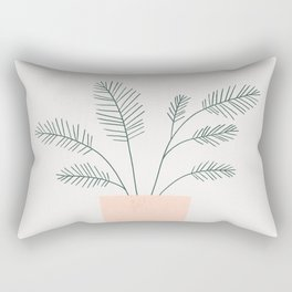 little fern Rectangular Pillow
