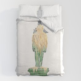 George W. Bush National Monument Duvet Cover
