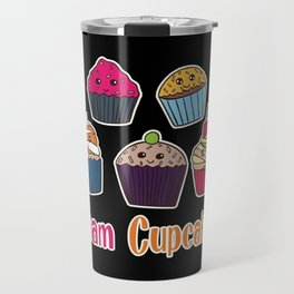 Cupcake Cookies Cake Baking Baker Bakery T-Shirt & Gift Travel Mug