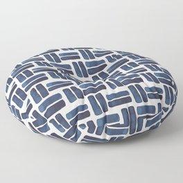 'bold brush strokes' - pattern Floor Pillow