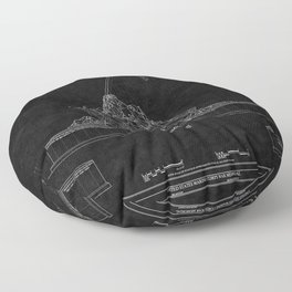 Marines Corps Memorial 2 Floor Pillow