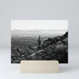 Climbing Camelback Mini Art Print