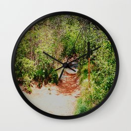 Forever Path Wall Clock