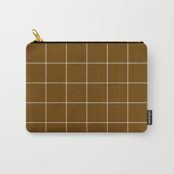 Minimal_LINES_EARTH Carry-All Pouch