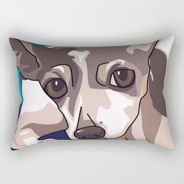 Jasmine Dog Rectangular Pillow