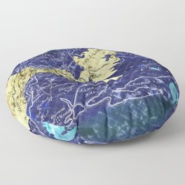 Lady of the Lake. Floor Pillow