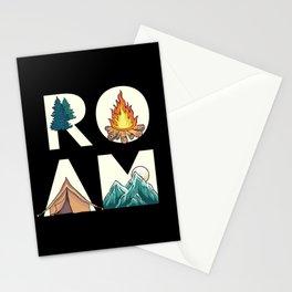 Camping Adventure Roam Stationery Cards