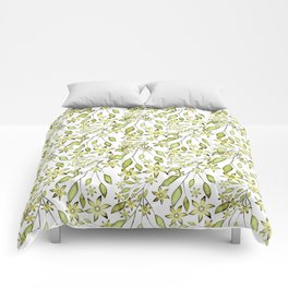 delicate floral pattern. Comforters