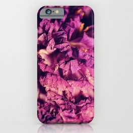 dry purple flower - 2nd iPhone Case