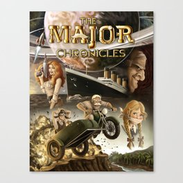 The Major Chronicles Vol. I Book Cover Canvas Print