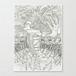 Cosmic Release Canvas Print
