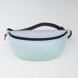 Mint Green and Lavender Ombre - Flipped Fanny Pack