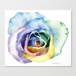 Wacky Rose Canvas Print