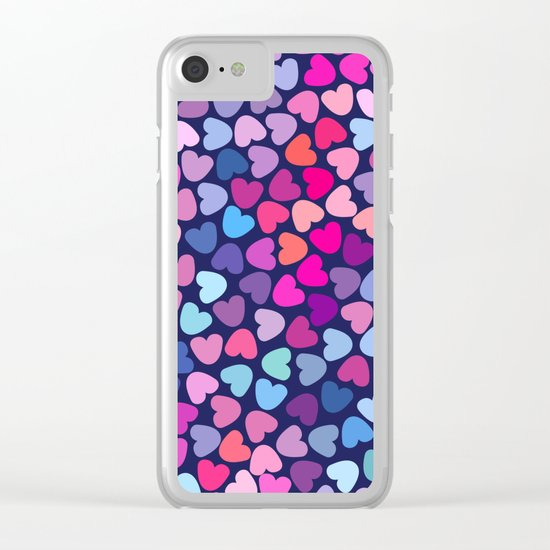 Love Love Love ..... Clear iPhone Case