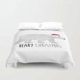 Beary Christmas | Polar Bear Duvet Cover
