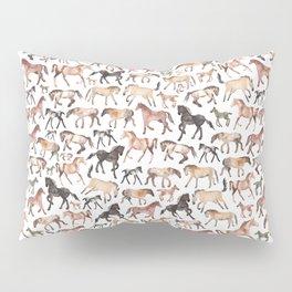 Horses, Ponies, Equine Pillow Sham