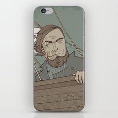 Ahab and the Whale iPhone & iPod Skin
