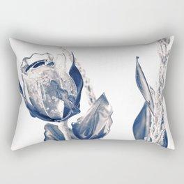 Glass rose Rectangular Pillow