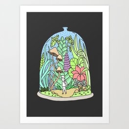 Glass jar Art Print