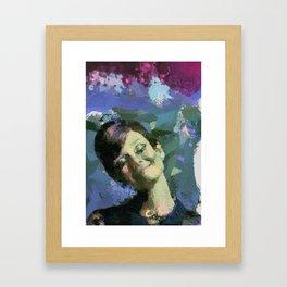 Happy :) Framed Art Print