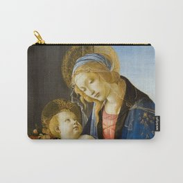 The Virgin and Child by Sandro Botticelli Carry-All Pouch