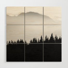 LET GO Wood Wall Art