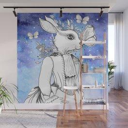 Magic Fairy Incantations Spark Rabbit Transformations Wall Mural