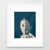 drive Framed Art Prints featuring Drive  by Clare Corfield Carr
