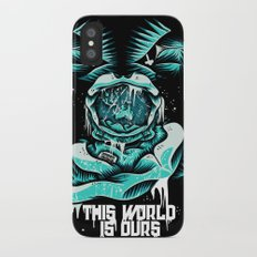 This World is ours iPhone X Slim Case