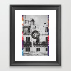 I tried. Framed Art Print