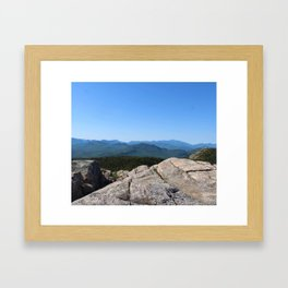 Mount Chocorua Framed Art Print