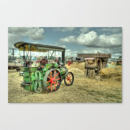 Traction Thresh Canvas Print