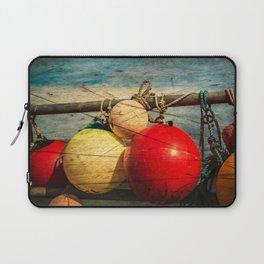 Nautical Bouys. Laptop Sleeve