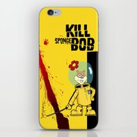 spongebob iPhone & iPod Skins featuring Kill Spongebob by thunderbloke!