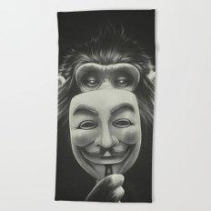 Anonymous Beach Towel