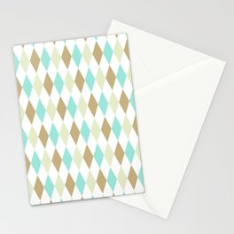 Harlequin Print in Seascape Stationery Cards