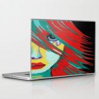 indie Laptop & iPad Skins featuring Mosaic Indie by Sartoris ART