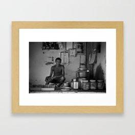 Chaiwala  Framed Art Print