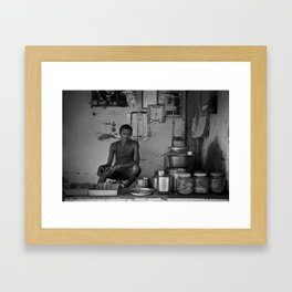 Chaiwala  Framed Art Print