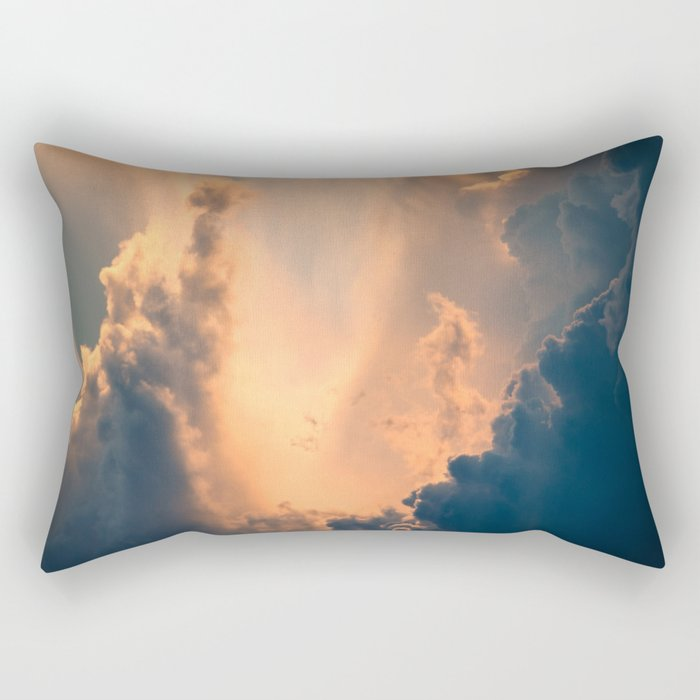 Majestic Clouds Rectangular Pillow